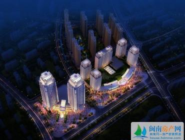 晋江宝龙城市广场夜间效果图