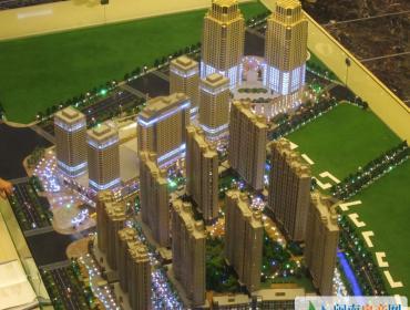 晋江宝龙城市广场沙盘图
