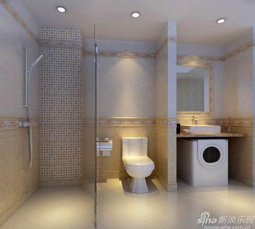 迷你型厕所装修效果图