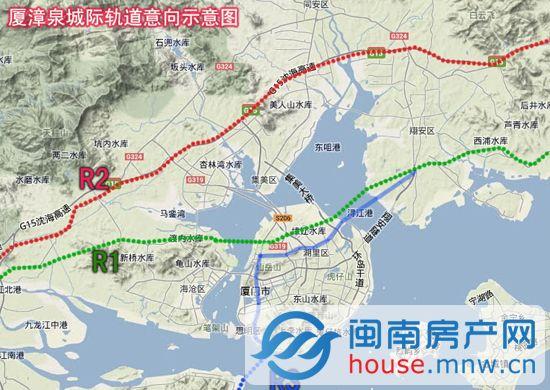 据了解,r1线路起于漳州南靖,经过漳州中心城区,串联角美