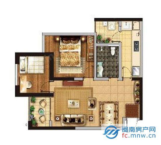 """1、看起居厅   选户型,首先要看起居厅,它是集会客、活动、工作为一体的综合功能区。起居厅应该宽敞、明亮、通风、有较好的朝向和视野。同时由于起居厅兼""""交通厅"""",所以厅中设计的门应该尽量减少,至少一面墙的直线长度不小于3米,以便留出足够摆放家具的稳定空间。   与此同时,起居厅最好是长方形,而且其宽度不应小于3."""