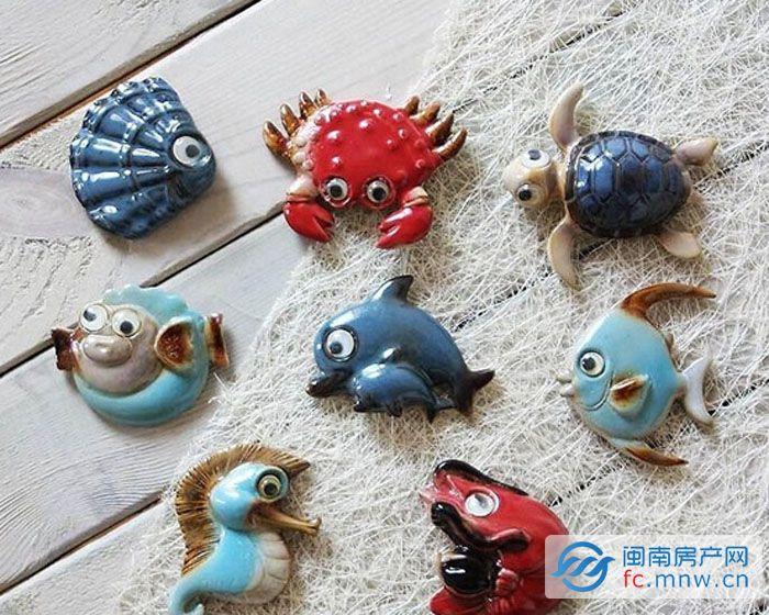 海洋挂饰,海洋主题粘土,贝壳彩绘,陶瓷彩绘,各种diy活动精彩上演,乐