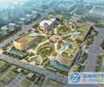 泉州市公共文化中心(四朵花瓣)鸟瞰图