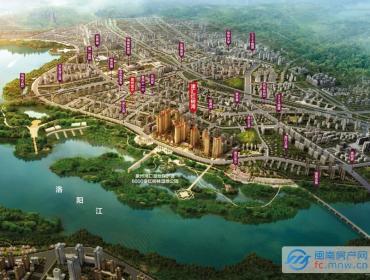 津汇红树湾-片区鸟瞰图