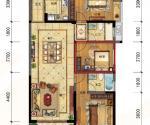 107-109㎡三房两厅两卫