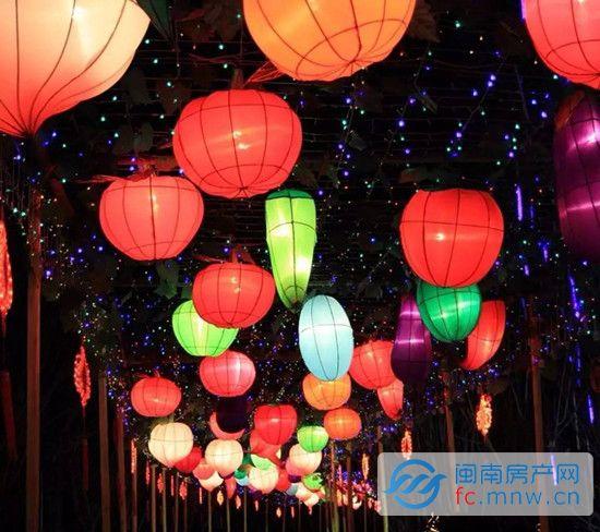 2月9日-2月12日        112盏丰泽区中小学生制作的创意花灯,由泉州