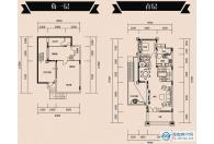 别墅B2-1户型负一层首层(15#-23#、25#)