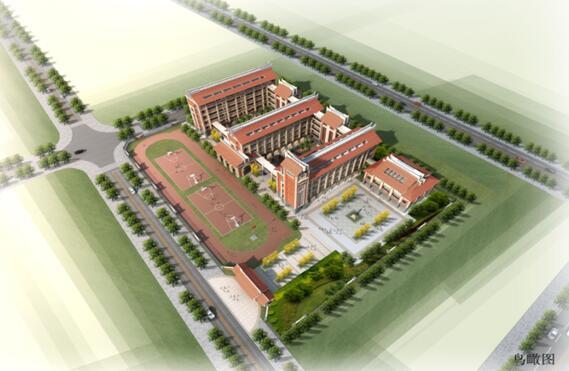 """学校的整体设计风格极具闽南特色,建筑立面单体设计体现""""尊重"""