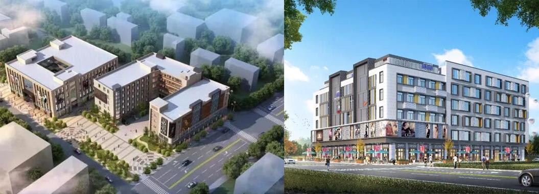 泉州市鲤城兴贤路增加一商业中心 预计2020年5月份完工