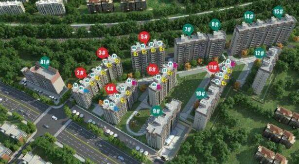 均价16968元/㎡!市区245套住宅获批预售